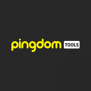Pingdom logo vindue blog